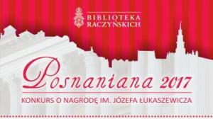 Znamy już autorów najlepszych książek o Poznaniu - Posnaniana 2017