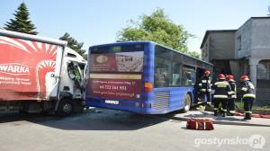Wypadek w Gostyniu - 11 poszkodowanych