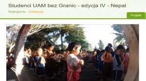 """""""Studenci UAM bez granic"""" jadą do Nepalu"""