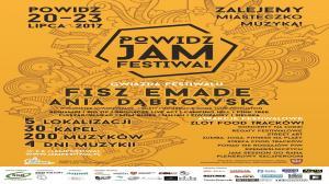 20 - 23 LIPCA, POWIDZ JAM FESTIWAL 2017