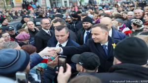 Prezydent Andrzej Duda w Obornikach