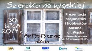 """30 LIPCA, """"SZEROKO NA WĄSKIEJ 2017"""", MOSINA"""