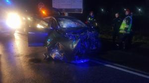 Wypadek w Żernikach. Rannych pięć osób