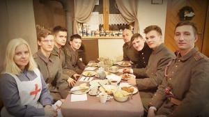 Żywa lekcja historii w Osiecznej