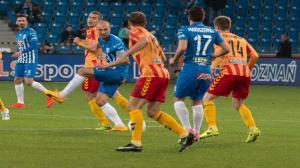 Lech Poznań pokonał Koronę Kielce 3:2