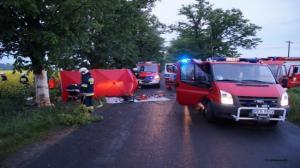 Tragiczny wypadek pod Koźminem