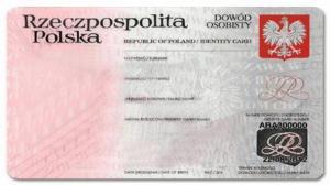 Dowód osobisty polski, angielski, niemiecki, prawo jazdy z Kalifornii - dokumenty do wyboru, do koloru