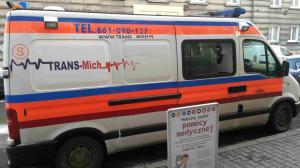 Mobilny punkt pomocy medycznej w Poznaniu