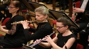 Poznańscy filharmonicy we Wrocławiu
