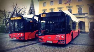 Nowoczesne autobusy w Ostrowie Wielkopolskim