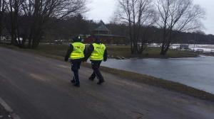 Ostrowscy policjanci uratowali mężczyznę