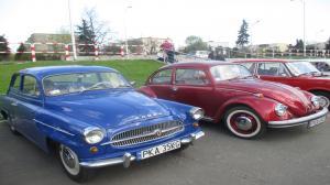 Klasyczne auta na ulicach Kalisza