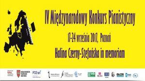 """17 - 24 WRZEŚNIA,  KONKURS PIANISTYCZNY """"HALINA CZERNY-STEFAŃSKA IN MEMORIAM"""""""