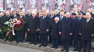 Prezydent Andrzej Duda na uroczystościach w Rawiczu