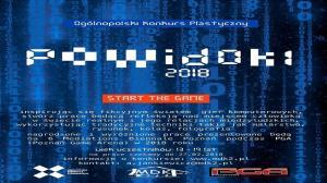 Świat wirtualny i świat realny. Wystawa Powidoki - start the game