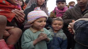 Ostatni transport dla dzieci w Gazni