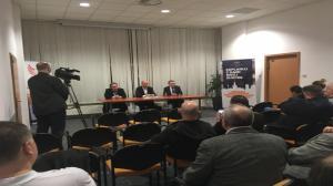 Debata kandydatów PiS na prezydenta Poznania