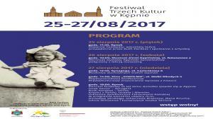 25 - 28 SIERPNIA, FESTIWAL TRZECH KULTUR W KĘPNIE
