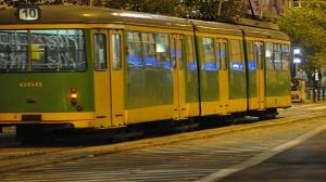 Nocny remont, tramwaje objazdem
