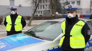 Maski przeciwpyłowe dla policjantów