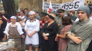 Poznański Czerwiec'56 - rekonstrukcja walk
