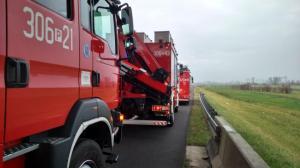 Karambole i wypadki na autostradzie A2