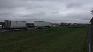 Wypadek na autostradzie. A2 zablokowana w obu kierunkach