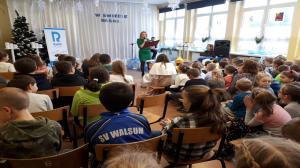Pomoc dla szkolnej biblioteki w Wyszynach