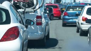 Gigantyczne korki na Śródmiejskiej w Kaliszu i wielkie nerwy kierowców