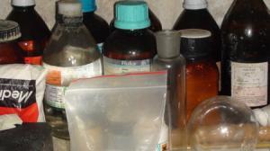 Narkotyki i fabryka amfetaminy