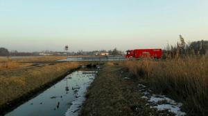 Akcja straży w pobliżu Kiekrza