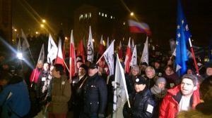 Protest KOD w Poznaniu
