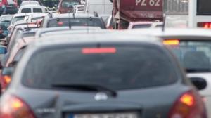 Bardzo duże problemy z wyjazdem z Polski do Niemiec autostradą A2