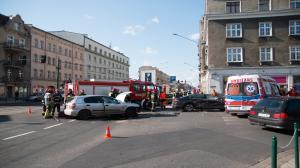 Wypadek na ul. Głogowskiej. Znowu!
