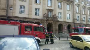 Poznań: pożar w Sądzie Rejonowym
