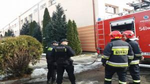 Ponad 200 dzieci ewakuowano w Zespole Szkół nr 2 w Ostrzeszowie