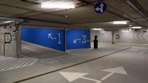 Parking trójpoziomowy w centrum miasta
