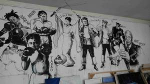 Kontrowersyjny mural zniknie z pracowni