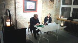 Spotkanie z poezją w Galerii VA
