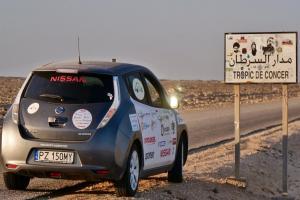 Arkady Fiedler przejechał Afrykę samochodem elektrycznym!