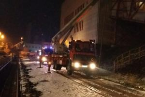Pożar pyłu węglowego w elektrowni Pątnów
