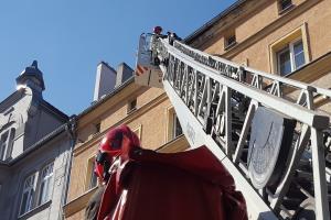 Niebezpieczne zdarzenie w centrum Poznania