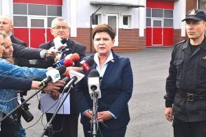 Premier Beata Szydło o sytuacji po nawałnicach w Wielkopolsce