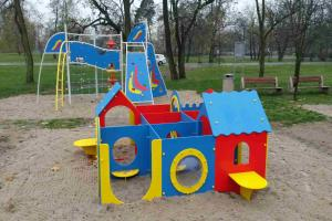 Otwarto nowy plac zabaw. Inicjatywa 7-latki