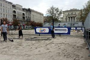 Plaża na Placu Wolności