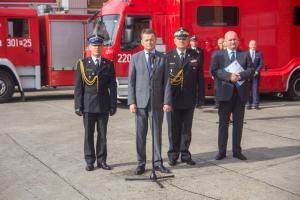 Szef MSWiA otworzył posterunek policji w podpoznańskiej Rokietnicy