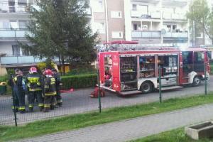 Pożar na os. Batorego. W mieszkaniu znaleziono zwłoki