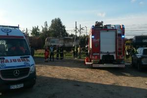 Wypadek kolejowy w Kobylnicy