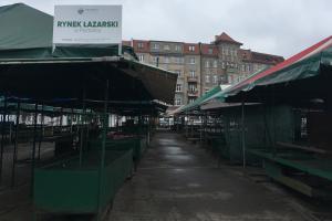 Nawet dwa lata może zająć remont Rynku Łazarskiego
