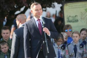 Prezydent A. Duda: Śrem to miasto bohaterów Niepodległości
